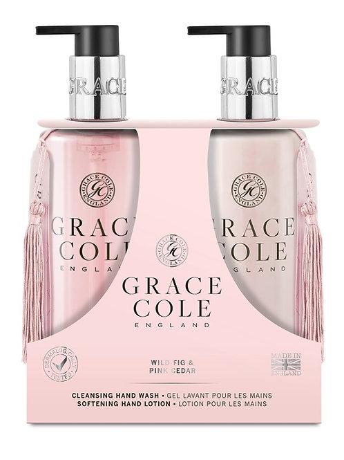 Grace Cole Wild Fig & Pink Cedar Hand Care Duo - Schoonheidssalon Saona Aalst