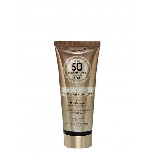 Tanny Maxx PROTECTIVE Anti Age FACE care SPF 50 - 75 ml - Schoonheidssalon Saona Aalst