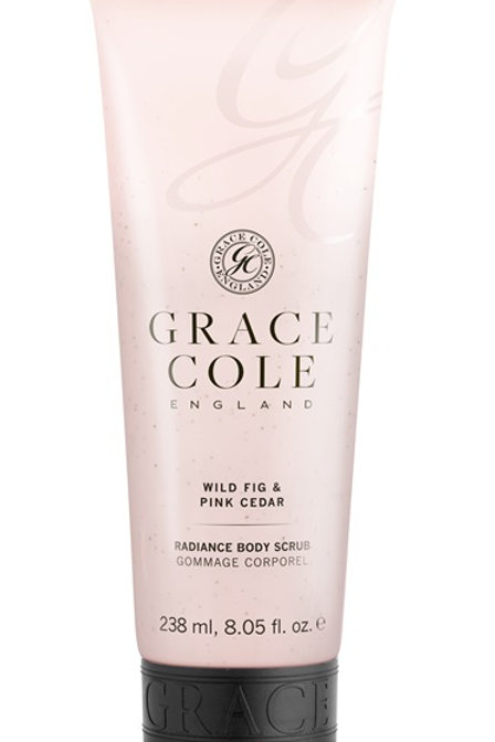 Grace Cole Wild Fig & Pink Cedar Body Scrub - Schoonheidssalon Saona Aalst