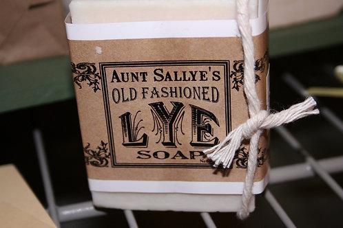 Lye Soap Bar