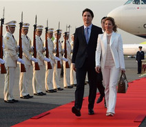 Justin Trudeau, visita oficialmente Japón antes de su participación en la cumbre del G7.