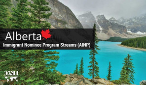 Did you know that Alberta invited 3,357 candidates through the AINP-Program?