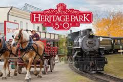 """Heritage Park Museum"", where you can: see, touch, smell and talk to history."