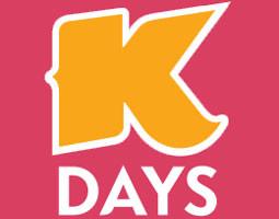 ¿Sabías que desde el Viernes 20 de Julio hasta el Domingo 29 de Julio 2018 se celebrará  K-Days?