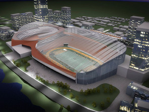 Did you know that the city of Calgary is very close to replace the old Scotiabank Saddledome?