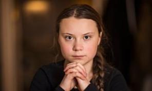 """""""Nuestro futuro está en juego"""", expreso: Greta Thunberg en la manifestación climática de Edmonton."""
