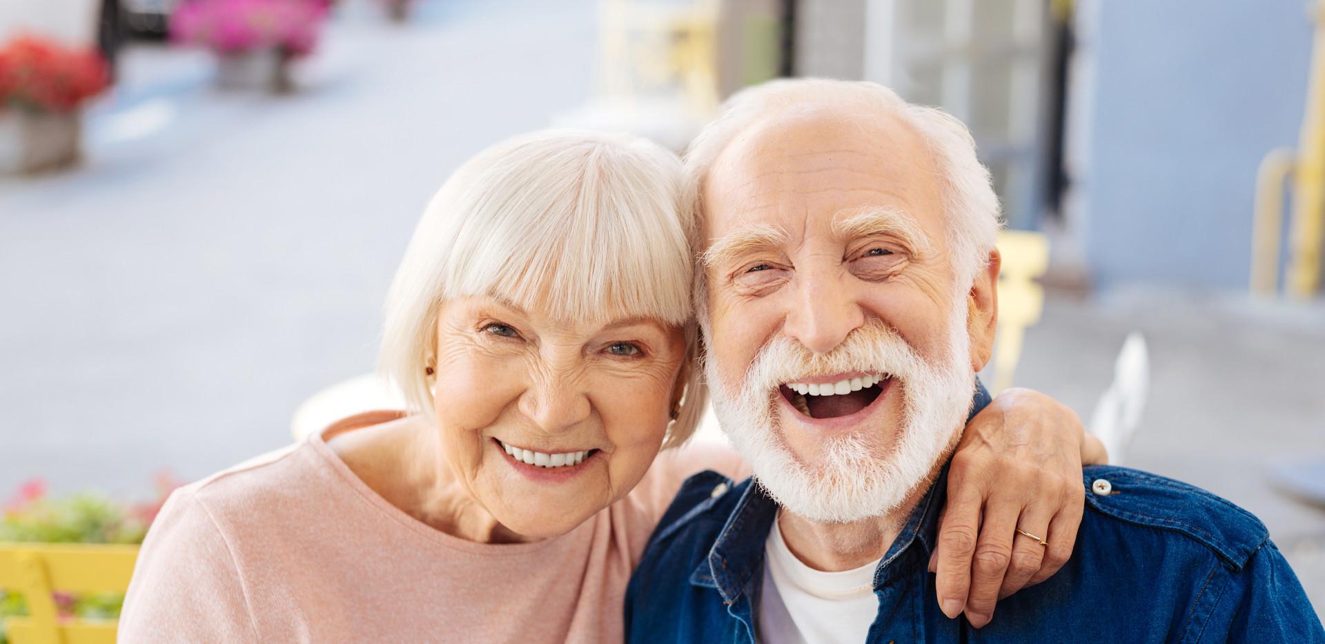 Glücklich leben im Alter