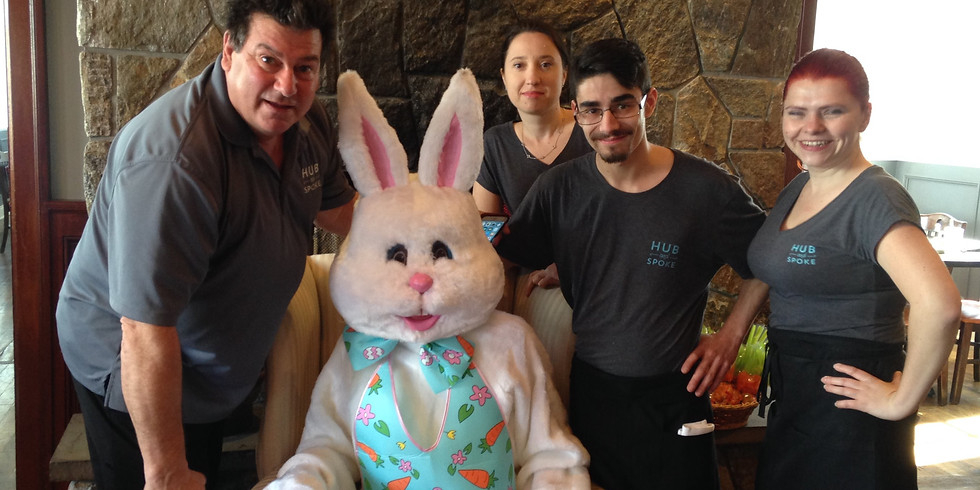 Breakfast with the Easter Bunny 10:30