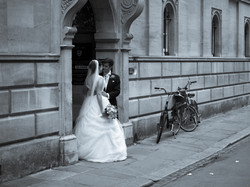 The wedding and the kiss