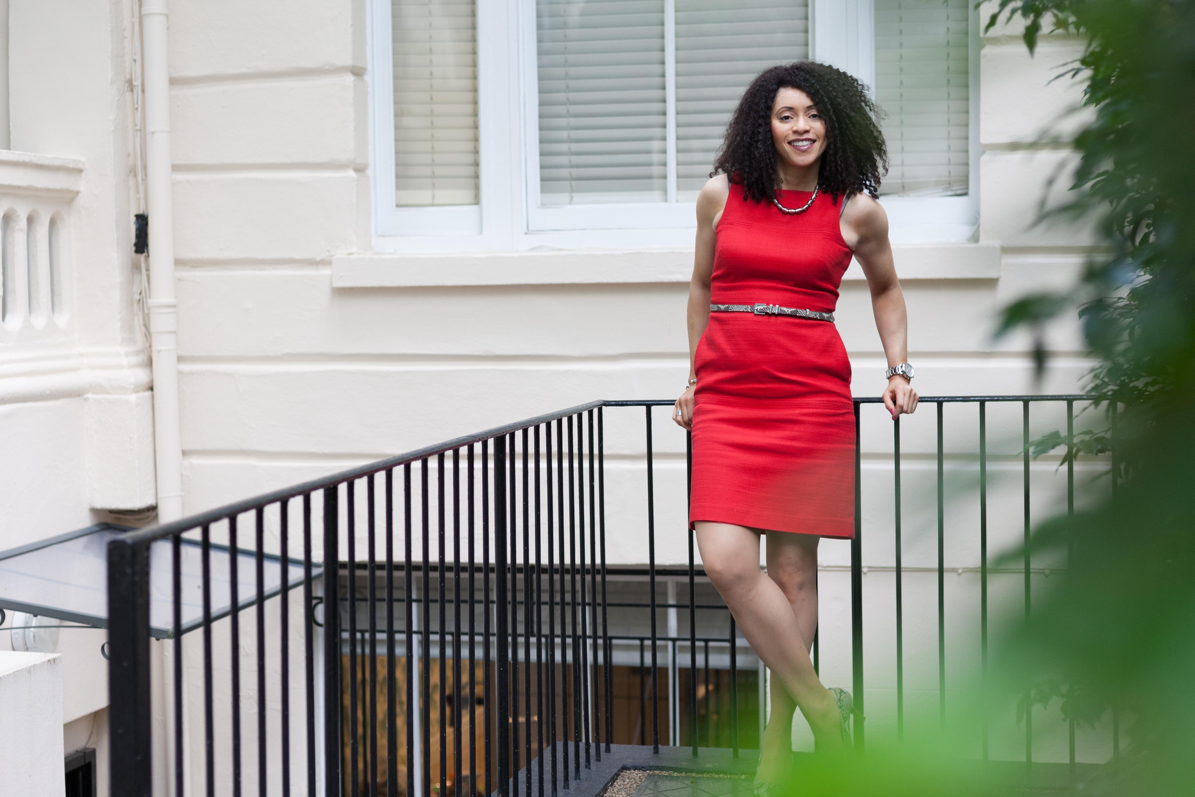 Portrait f Ugo, businesswoman
