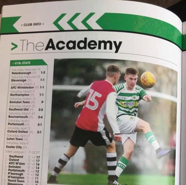 Norwich Academy Report