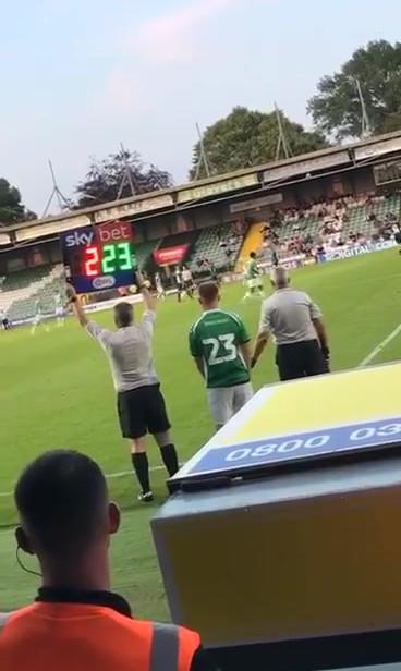 Yeovil 1st Team vs Swansea FC Pre-Season