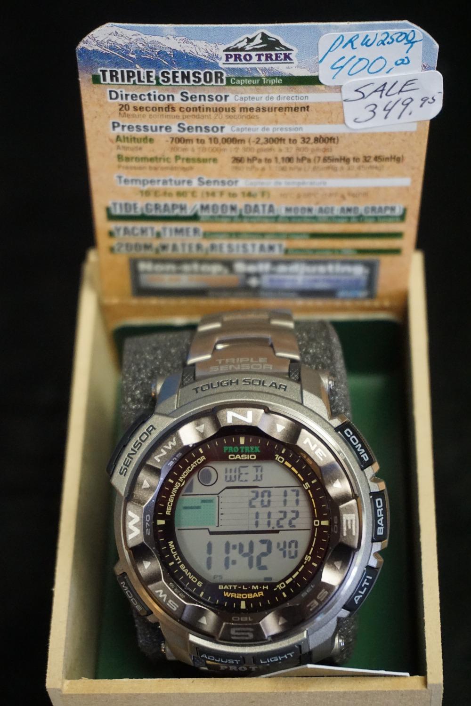 Featured Triple Sensor Watch
