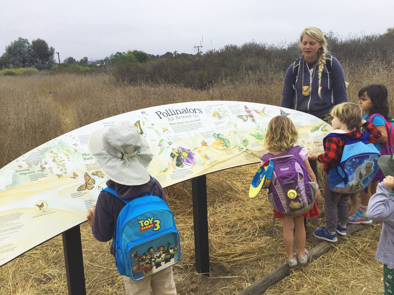 Coronado Butterfly Preserve Pollinator Mural