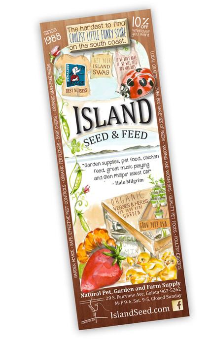 Island Seed & Feed advertisement
