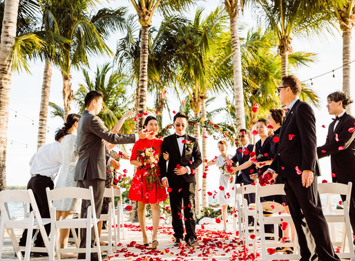 Isla Bella Beach Resort Intimate Wedding | Florida Keys Destination Wedding
