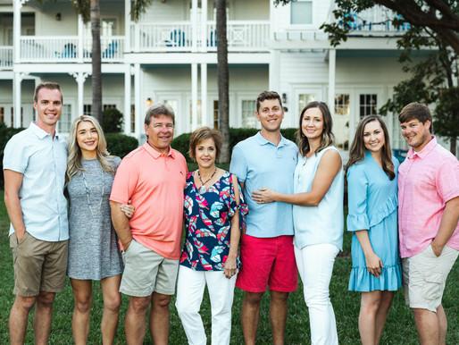 Tranquility Bay Large Family Photo Session | Florida Keys Family Portrait Session