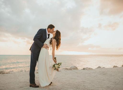 Intimate Florida Keys Elopement | Florida Keys Wedding Photographer | Key Colony Beach