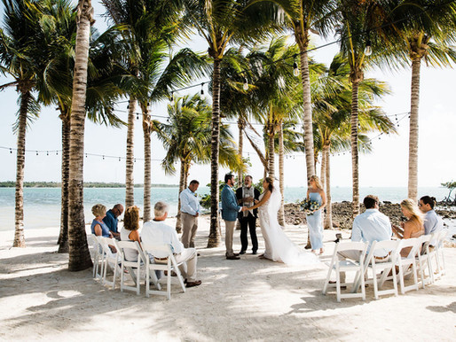 Intimate Wedding at Isla Bella Beach Resort | Florida Keys Destination Wedding Photography
