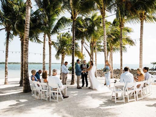 Intimate Wedding at Isla Bella Beach Resort | Florida Keys Destination Wedding Photography