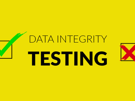 Data Integrity Testing