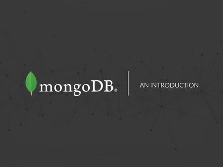 MongoDB: An Introduction