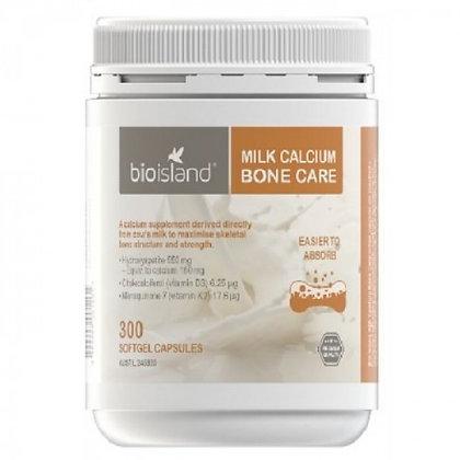 Bioisland Milk Calcium Bone Care 300粒 大瓶乳鈣