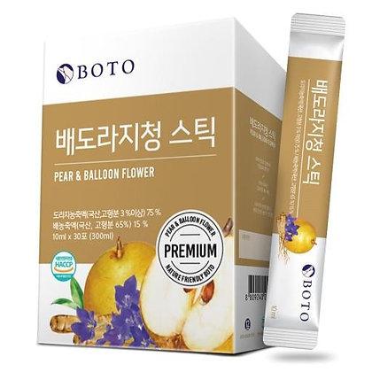 BOTO梨桔梗濃縮汁10ml*30包