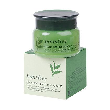 綠茶平衡面霜 Innisfree green tea balancing cream ex