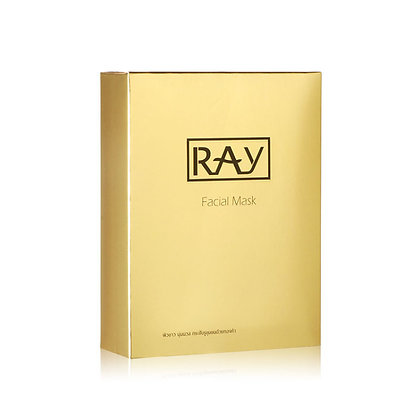 Ray Gold Facial Mask  泰國Ray 蠶絲面膜金色