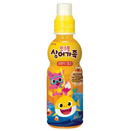 Lotte Pinkfong 碰碰狐 芒果橙汁 235ml