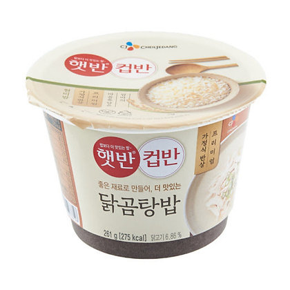 CJ 極品韓式雞湯泡飯 261g