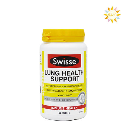 SWISSE LUNG HEALTH SUPPORT 清肺片 90粒