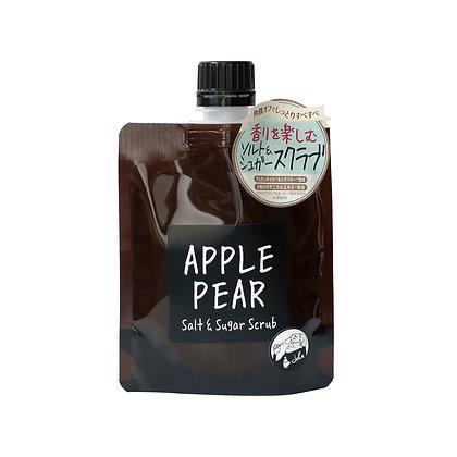 日本John's Blend Apple Pear Salt & Sugar Scrub 135G 香氛身體磨砂膏 - 清甜蘋果梨