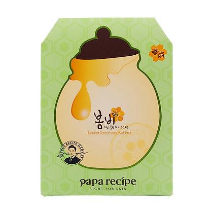 Papa Recipe Bombee Green Honey Mask Pack 綠春雨