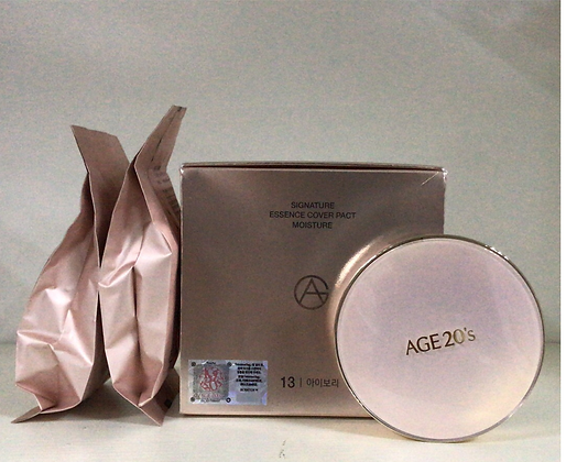 Age 20's Signature Essence Cover Pact #Moisture 13 新版愛敬