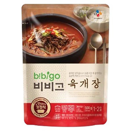 CJ Bibigo Spicy Beef Stew 500g CJ 韓國辣牛肉湯500g