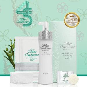Albion 45TH Annivrsary Coffret RX 奧爾濱健康水330ML+洗面皂+化妝棉