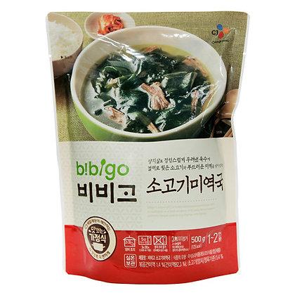 韓國 CJ Bibigo Beef Seaweed Soup 500g牛肉海帶湯500g