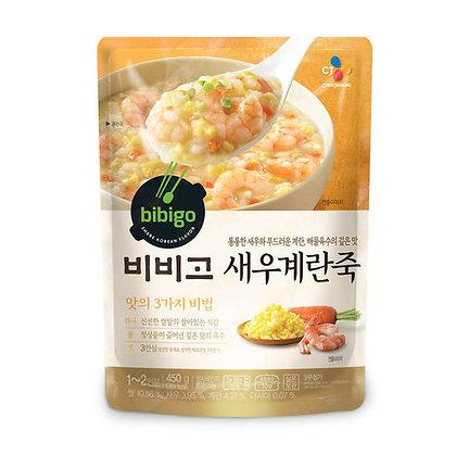 Bibigo Rice Porridge With Shrimp and Egg 蝦蛋花粥