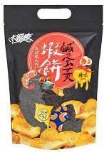 大眼蝦-鹹蛋黃蝦餅(辣味) 70g