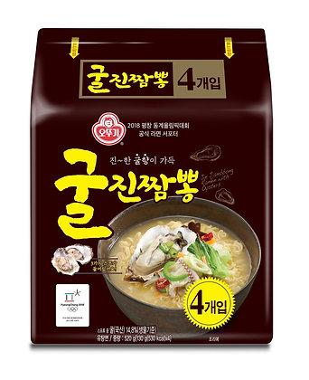 不倒翁真蠔海鮮風味拉麵 4包裝