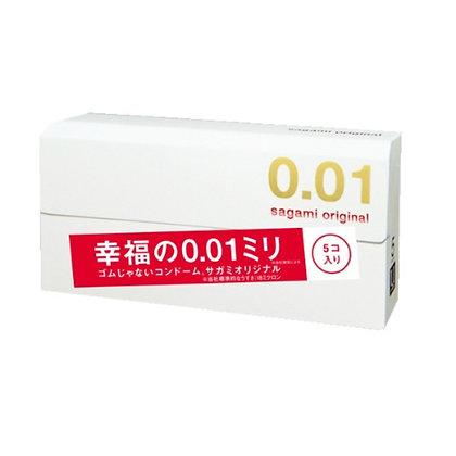 Japan Sagami Orignal 幸福0.01 避孕套 白色