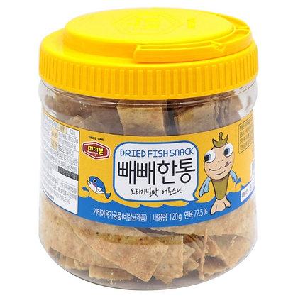 Murgerbon 韓國烤魚片桶 (原味-黃色) 120g