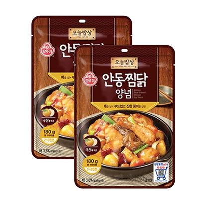 不倒翁安東燉雞醬料包 180g