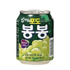 韓國Haitai 海太葡萄果汁238ml