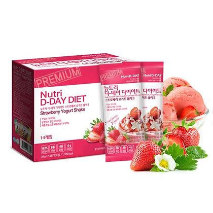 Nutri D-Day Strawberry Yogurt Diet Shake Powder士多啤梨減肥奶昔代餐