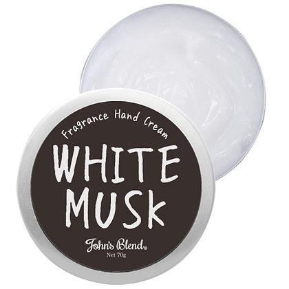 日本John's Blend 芳香手霜 70G #White Musk 白麝香