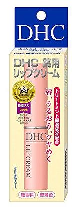Japan DHC Lip Cream 潤唇膏 黃盒