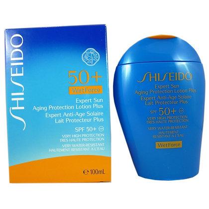 Shiseido 大藍胖子防曬Expert Sun Aging Protecting Lotion Plus 50+ 100ml